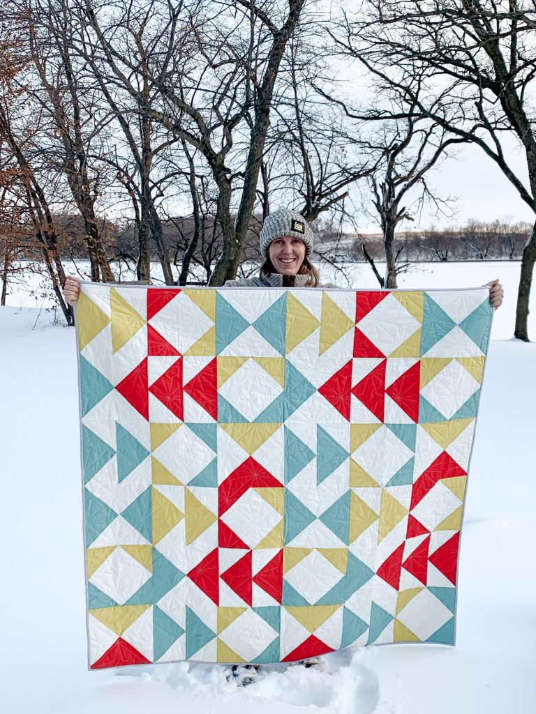 Primary Quilt Pattern Modern Textiles
