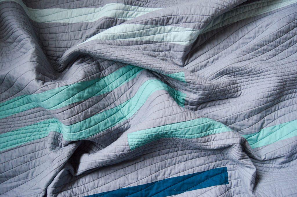 Modern Textiles Horizon Quilt